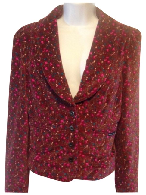 Preload https://item1.tradesy.com/images/dolce-and-gabbana-floral-blazer-size-8-m-5899720-0-0.jpg?width=400&height=650