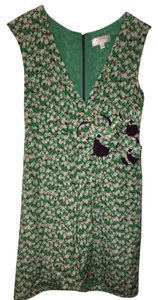 Moulinette Soeurs Embellished Silk Dress