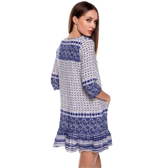 Other short dress Blue/White on Tradesy