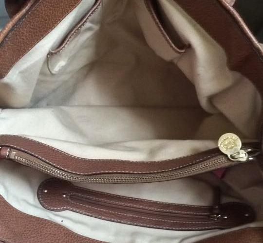 Juicy Couture Extra Large Diaper School Brown/Cream Travel Bag Image 2