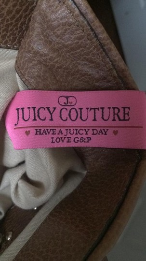 Juicy Couture Extra Large Diaper School Brown/Cream Travel Bag