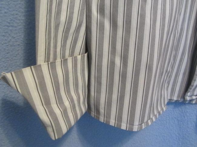 The Limited Top grey stripe Image 2