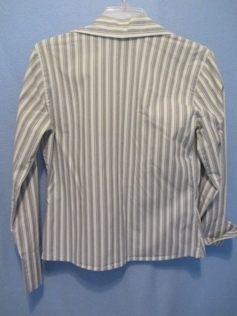 The Limited Top grey stripe Image 3