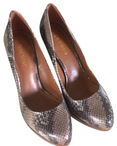Nine West Snake Skin - brown, black Platforms
