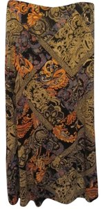 Coldwater Creek Skirt multi paisley