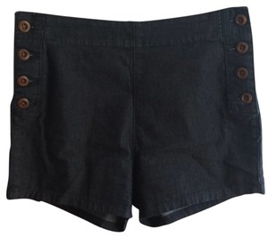 Pins and Needles Hot Sailor Buttons Mini/Short Shorts Denim