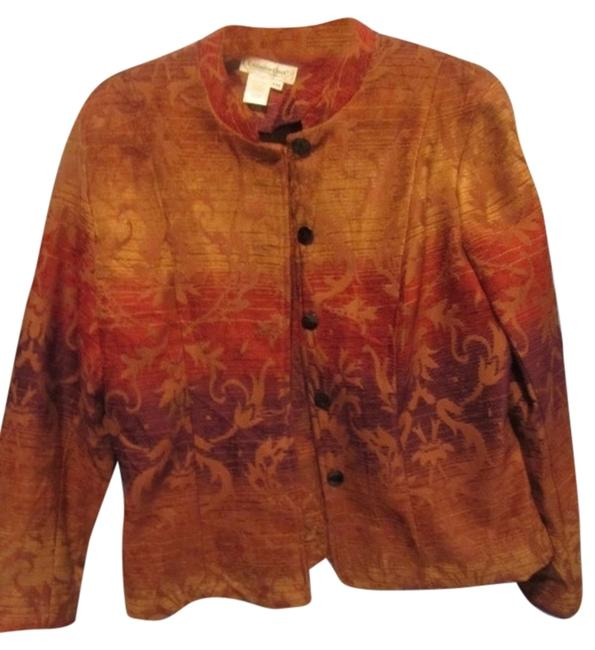 Coldwater Creek multi tapestry Jacket