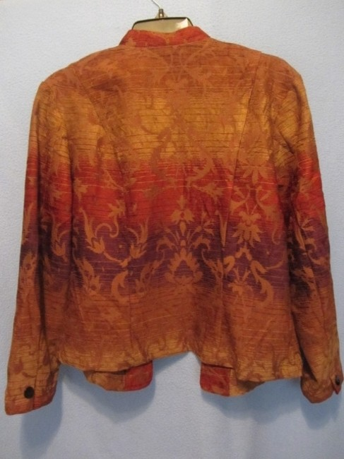 Coldwater Creek multi tapestry Jacket Image 3