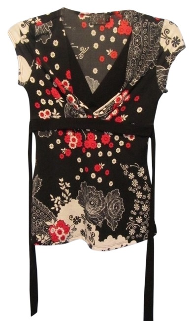 Preload https://item5.tradesy.com/images/mcm-black-with-print-blouse-size-4-s-5900809-0-0.jpg?width=400&height=650