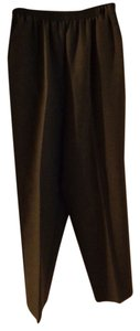 Alfred Dunner Straight Pants gray