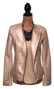 Express Gold Leather Jacket