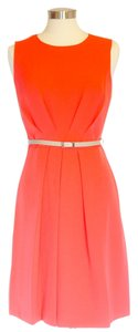 Sharagano short dress Orange Office Wear Classic on Tradesy