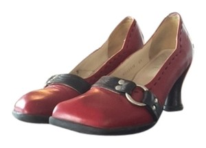 John Fluevog red Pumps