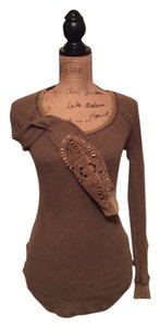 Free People T Shirt Olive