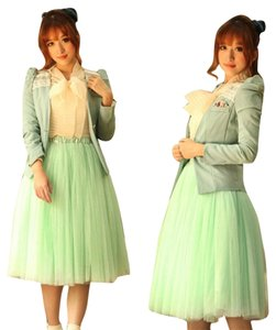 Skirt Mint green