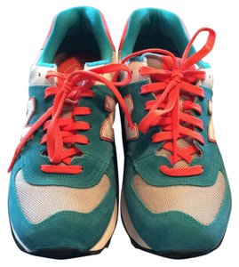 New Balance Teal/Coral Athletic
