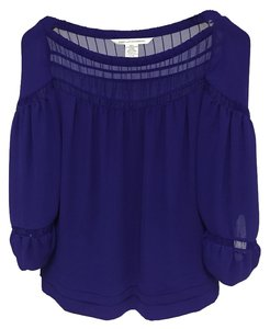 Diane von Furstenberg Dvf Day-to-night Top Purple
