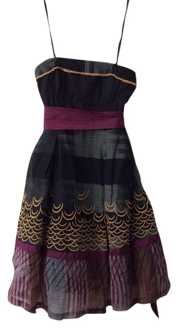 Preload https://item3.tradesy.com/images/floreat-black-raspberry-pink-gold-mid-length-cocktail-dress-size-2-xs-5904022-0-0.jpg?width=400&height=650