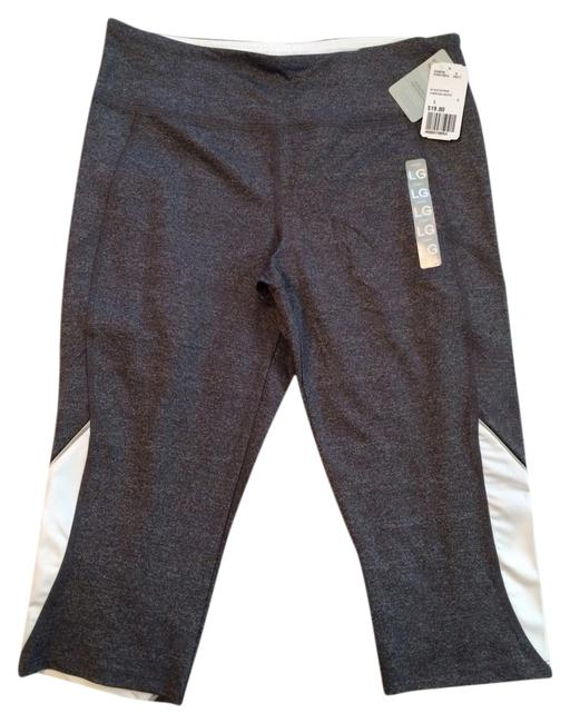 Preload https://img-static.tradesy.com/item/5904289/forever-21-charcoal-graywhite-athletic-pant-activewear-size-12-l-32-33-0-0-650-650.jpg