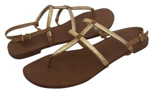 DV by Dolce Vita Tan/Gold Sandals
