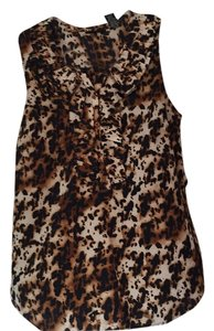New York & Company Top Black/Brown