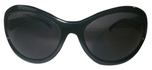 Ralph Lauren Polo Jeans Co. Wish Sunglasses Ralph Lauren Black Oversize Fashion Frame