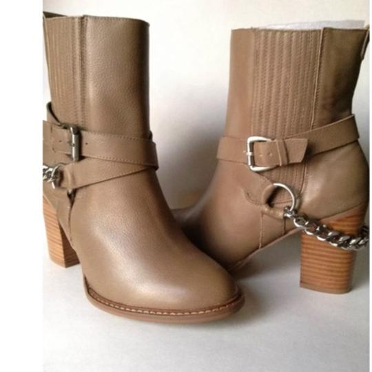 A.B.S. by Allen Schwartz Taupe Boots Image 1