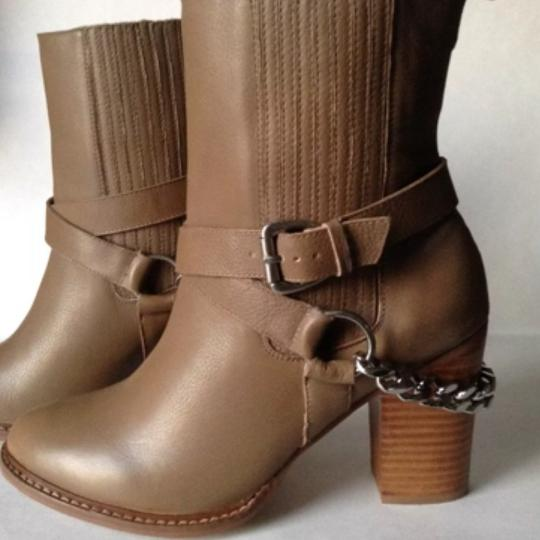 A.B.S. by Allen Schwartz Taupe Boots Image 10