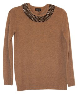 Topshop Embellished Casual Sweater