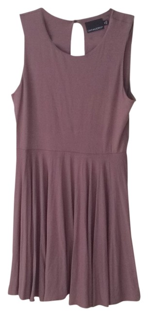 Preload https://item5.tradesy.com/images/cynthia-rowley-taupe-knee-length-cocktail-dress-size-16-xl-plus-0x-5905684-0-0.jpg?width=400&height=650