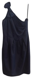 5/48 Blue Fitted Bow One Dress