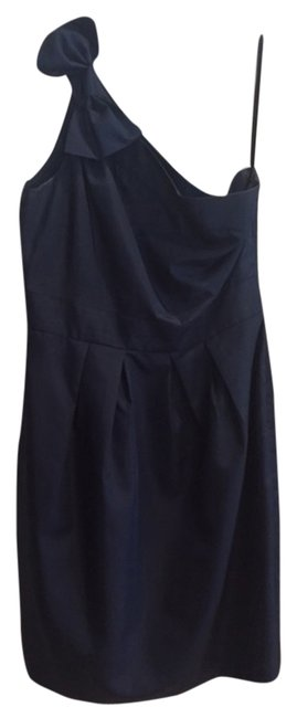 Preload https://item3.tradesy.com/images/548-blue-fitted-bow-dress-navy-5905837-0-0.jpg?width=400&height=650