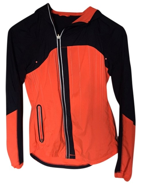 Item - Inkwell Blue and Flair (Orange) Run: Get Up Glow Activewear Outerwear Size 6 (S, 28)