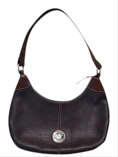 Preload https://img-static.tradesy.com/item/5906179/dooney-and-bourke-black-and-brown-all-weather-leather-hobo-bag-0-1-540-540.jpg