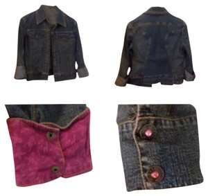 Matthew Williamson Womens Jean Jacket