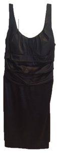 B. Darlin Scoopneck Satin Lbd Dress