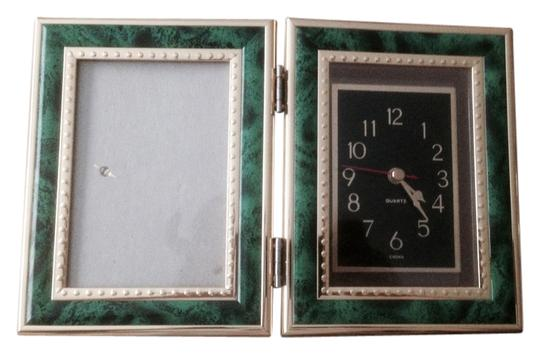 Other Analog Clock Picture Frame Green