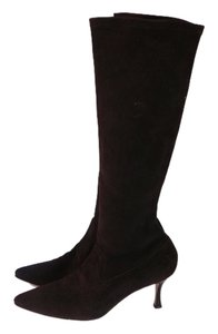 Manolo Blahnik 39.5 Brown Boots