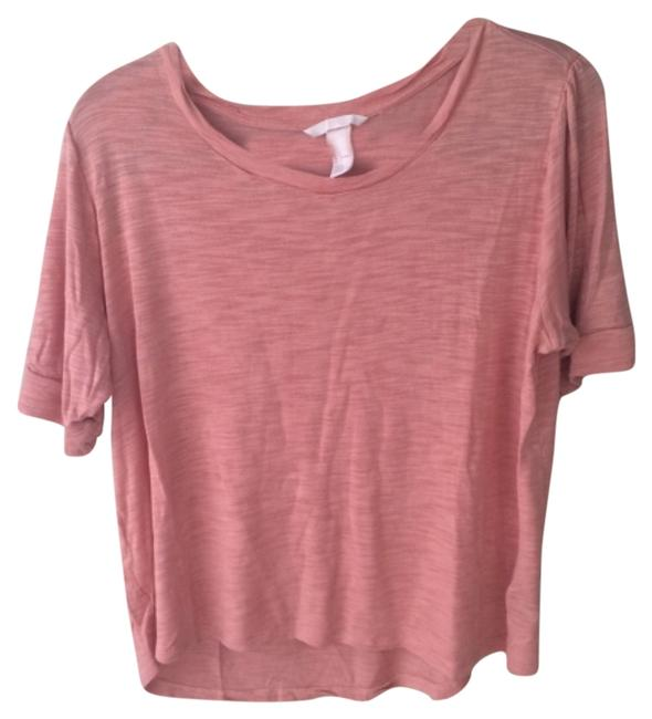 Preload https://item2.tradesy.com/images/h-and-m-peach-tee-shirt-size-12-l-5908186-0-0.jpg?width=400&height=650