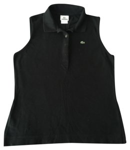Lacoste Button Down Shirt Blac