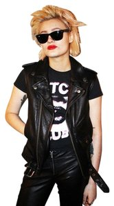 The Cast Leather Biker Motorcycle Punk Vest