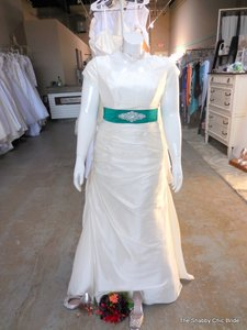 Allure bridals modest wedding dress on sale 80 off for Wedding dress resale st louis