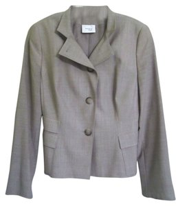 Akris Punto Light Gray Blazer