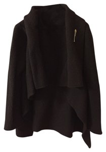 Dries van Noten Wool Cardigan One Size Drape Coat