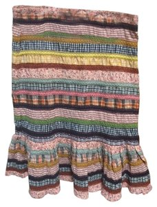 Anthropologie Skirt Multi