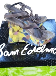Sam Edelman Gray/Multi Wedges
