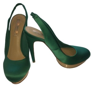 BCBGMAXAZRIA Bcbg Satin Emerald Green Formal