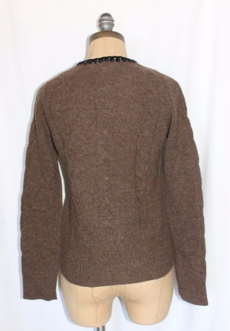 Anthropologie Odille Sweater Knit Lambswool Cardigan