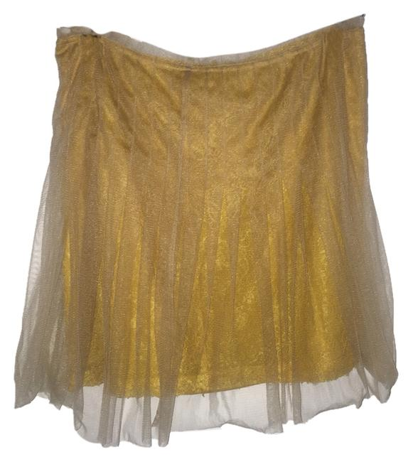 Rodarte for Target Skirt Mustard Yellow