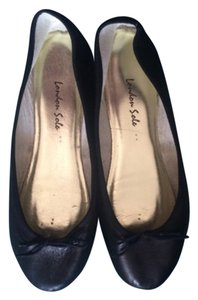 London Sole Blac Flats